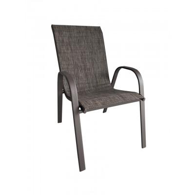 Μεταλλική Καρέκλα Monaco - Καφέ Διχρωμία - ph03